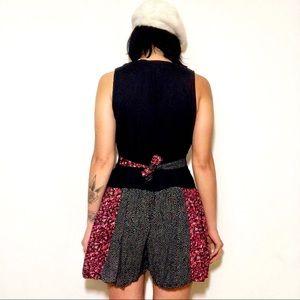 ecf188e5a5d1 Pants - 90s Parisian Floral   Polka Dot Jumper Romper M